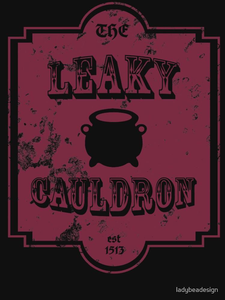 The Leaky Cauldron by ladybeadesign