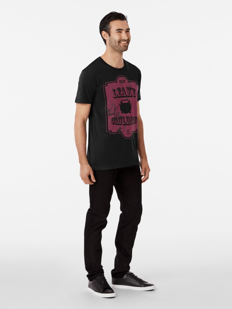 Alternate view of The Leaky Cauldron Premium T-Shirt