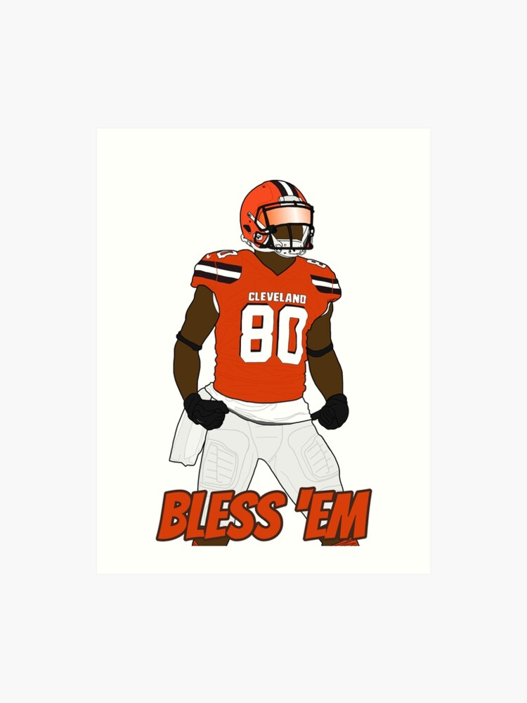detailed look e454f b3f03 Jarvis Landry Bless 'Em | Art Print