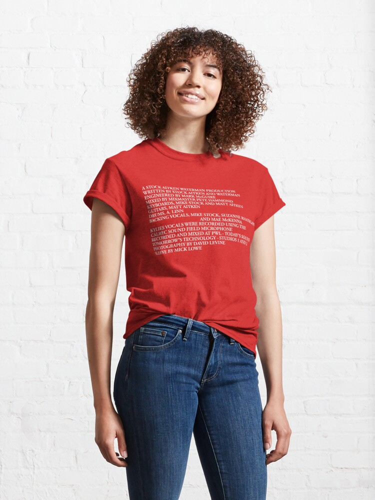 Alternate view of PWL CREDITS Classic T-Shirt