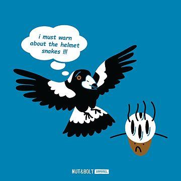 Misunderstood Magpie by nutandbolt