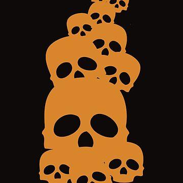 Skull - Halloween by SixtieShirts