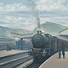 Castle Class at Paddington by Richard Picton