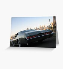 Riviera Visual - Buick Riviera 1966 Greeting Card