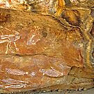 Kakadu Rock Art by Brian Downs