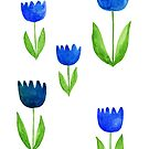 Blue Tulips by Josknytt