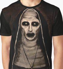 Dämonische Schwester Valak Grafik T-Shirt
