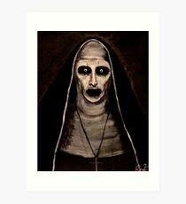 Dämonische Schwester Valak Kunstdruck