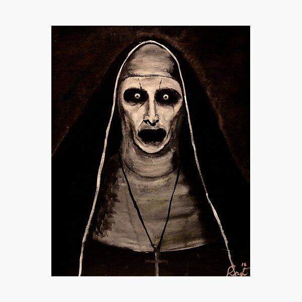 Demonic Sister Valak Photographic Print