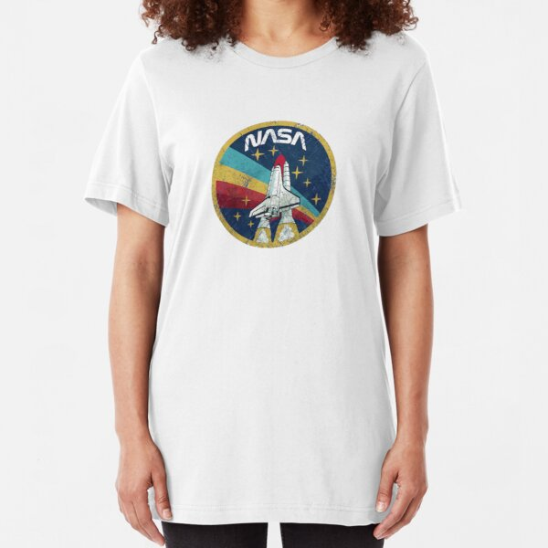 Nasa Vintage Slim Fit T-Shirt