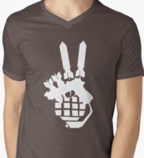 The euphemism (white) Men's V-Neck T-Shirt