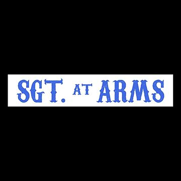 Sgt. At Arms Patch - Sons Of Anarchy by Total-Cult