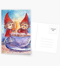 Over Tea Postcards