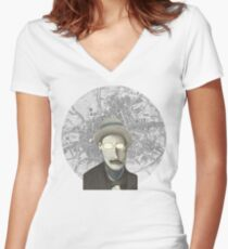 James Joyce Women's Fitted V-Neck T-Shirt