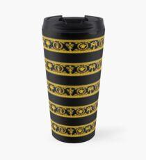 Barocco Gold Scratches Travel Mug