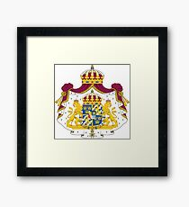 Greater Coat of Arms of Sweden  Framed Print