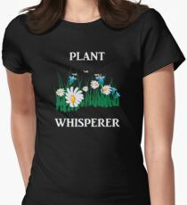 Gardening Funny Design - Plant Whisperer  Women's Fitted T-Shirt