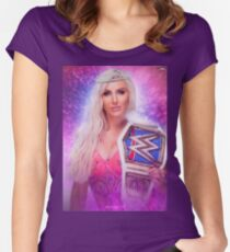 "Charlotte Flair - ""Royalty"" Women's Fitted Scoop T-Shirt"
