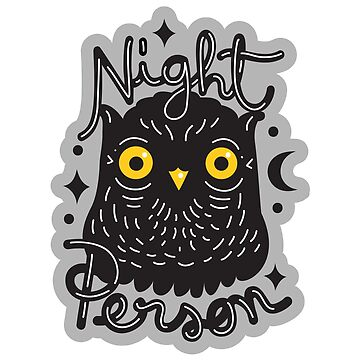 NIght Owl Person by Paolavk