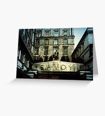 Savoy Greeting Card