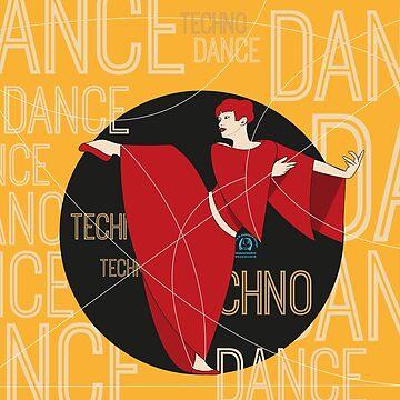 Techno Dance by pupazzodesign