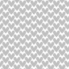Decorative pattern with hearts by starchim01