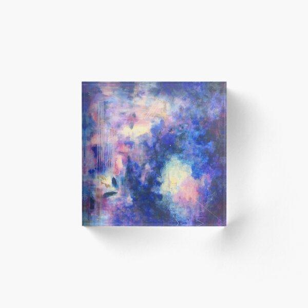 Bloc acrylique