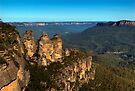 The Three Sisters Echo Point Katoomba - HDR by DavidIori