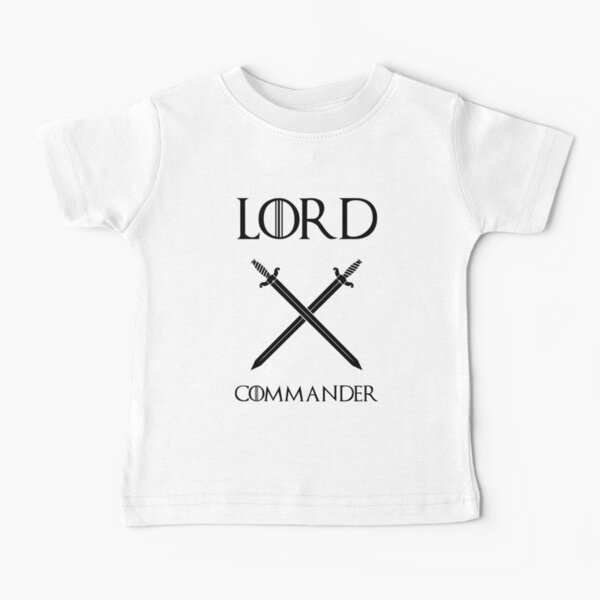 Game of Thrones - Lord Commander Baby T-Shirt