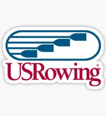 US Rowing  Sticker