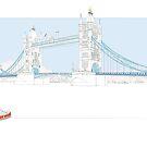 Tower Bridge London by grumpyteds