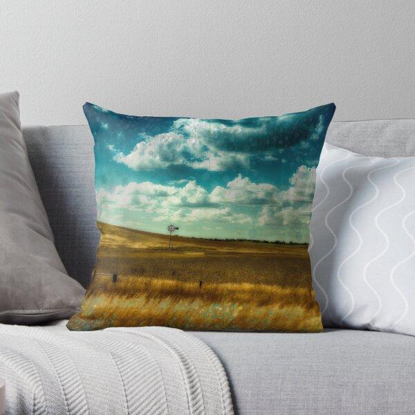NEBRASKA PRAIRIE Throw Pillow