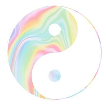 Tie Dye Yin Yang de adjsr