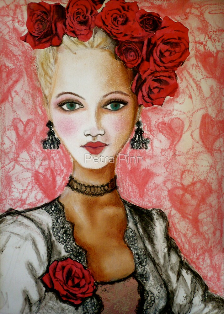rose lady by Petra Pinn