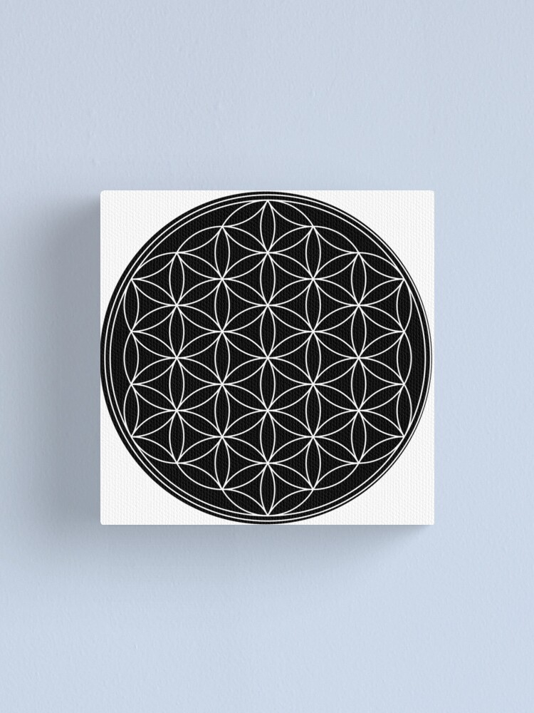 Alternate view of Flower of Life Canvas Print