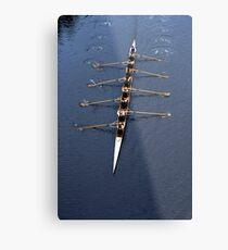 Mens 8 rowing Metal Print