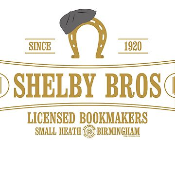 Peaky Blinders By Eye Voodoo - Shelby Bookies by eyevoodoo