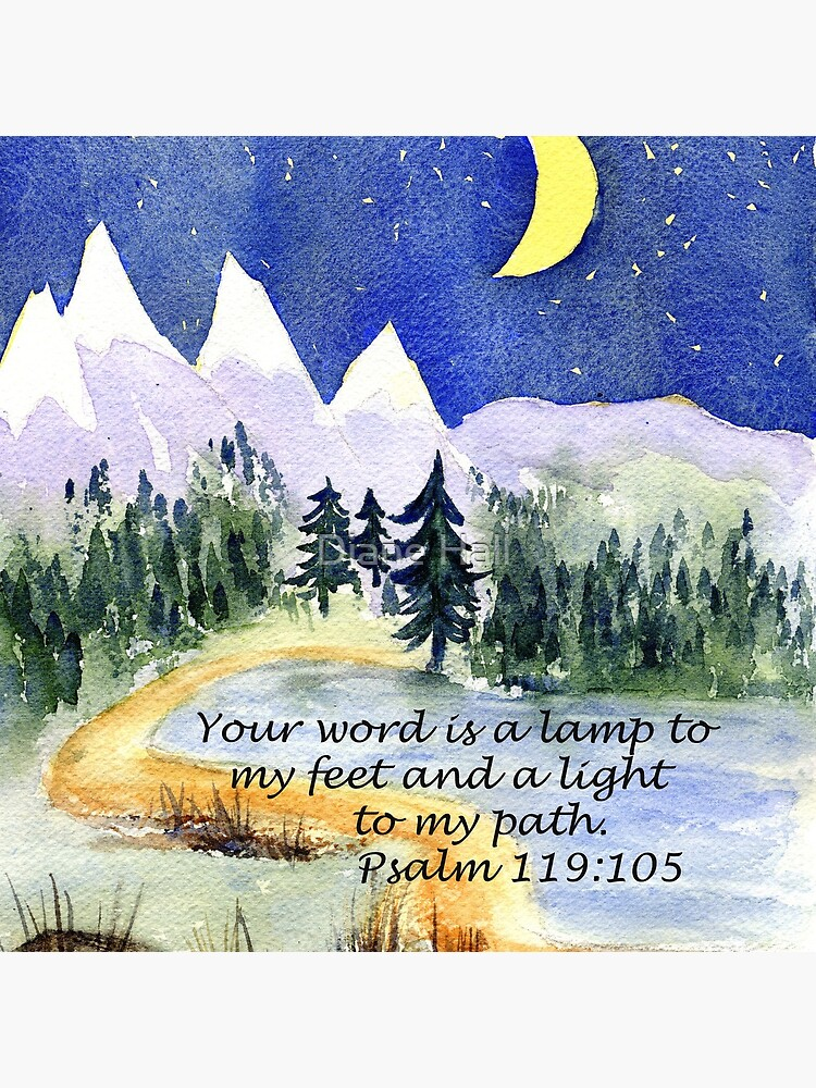 Guidance, Psalm 119:105 by DianeHall