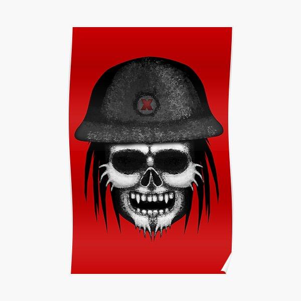 Errorface Skull Trooper Poster