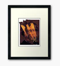 Charles Dickens. Framed Print