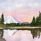 Cascade Mountains - Mt. Rainier, WA by Diane Hall