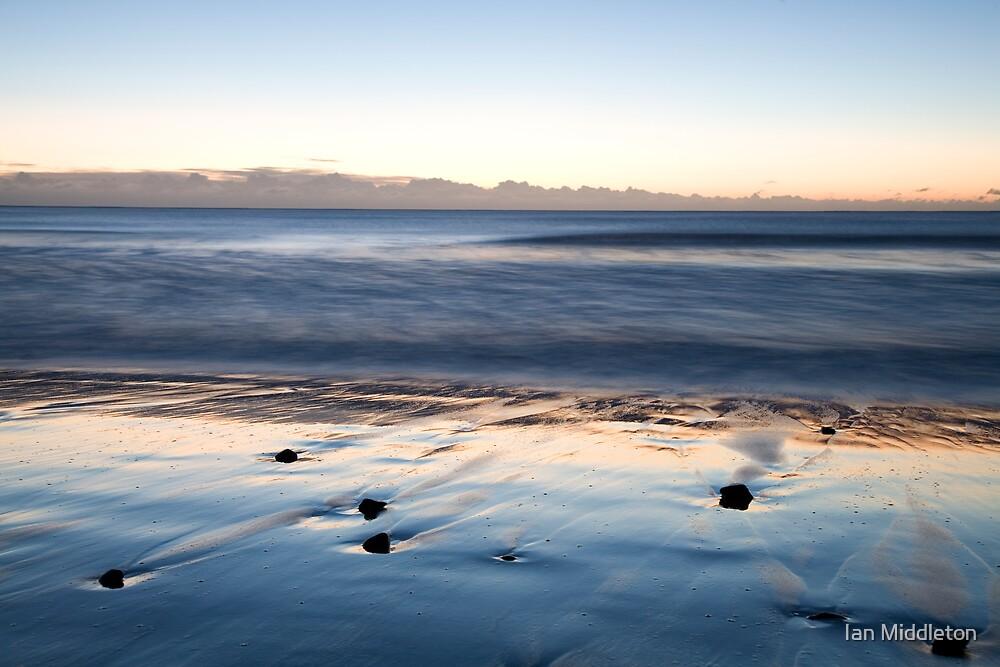 Ballyconnigar beach at dawn, County Wexford, Ireland by Ian Middleton
