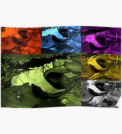 Pond Collage Poster