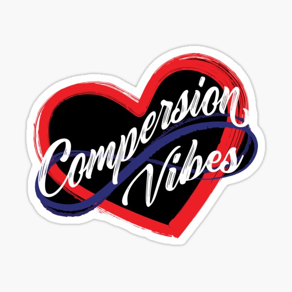 Polyamory Heart Compersion Vibes  Sticker