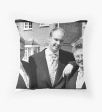 Groomsmen Throw Pillow