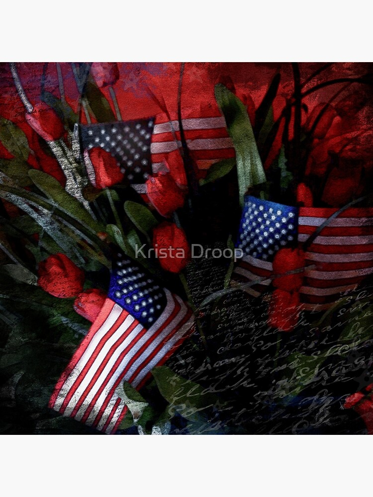 Patriotic Floral by Eye4Dogs