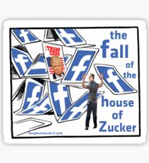 The Fall of the House of Zucker Sticker