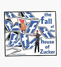 The Fall of the House of Zucker Photographic Print