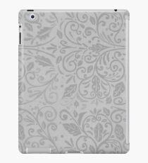 Silver Scrolls iPad Case/Skin