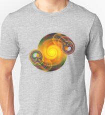 Rainbow Spiral Unisex T-Shirt